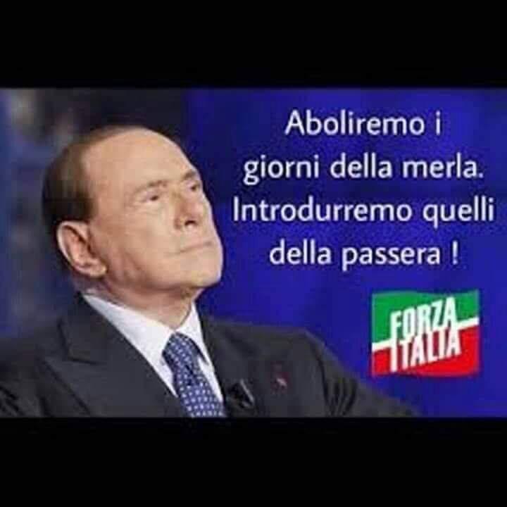 Berlusconi discende in campo in Europa.
